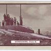 Submarine, class D.