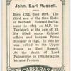 John, Earl Russell.