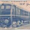 W.R. gas turbine loco.