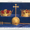 Crown, orb and sceptre of Richard II; crown of Anne.