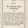 St. Mary's Hall, Conventry.