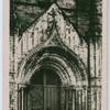 Durham Cathedral door, North side.