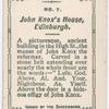 John Knox's house, Edinburgh.