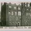 Old houses, Lincoln's Inn.