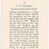 G.V. Stephenson.