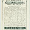 The Milkmaid.