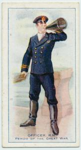 Officer R.N., period of The Great War.