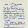 The East Lancashire Regiment.