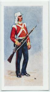 British uniforms of the 19th century.