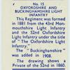 Oxfordshire and Buckinghamshire Light Infantry.