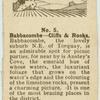 Babbacombe - cliffs & rocks.