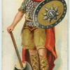 Anglo-Saxon warrior.