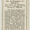 Footman of Henry I.