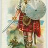 Scottish footman under Bruce.