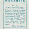 H.M.S. Thunderer (Dreadnought).
