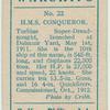 H.M.S. Conqueror (dreadnought).