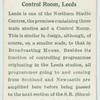 Control room, Leeds.