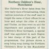 Northern Children's Hour, Manchester.