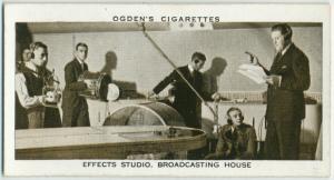 Effects studio, broadcasting house.