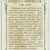 Marquis of Cornwallis.