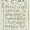 Earl St. Vincent.