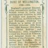 Duke of Wellington.