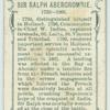 Sir Ralph Abercrombie.