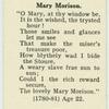 Mary Morison.