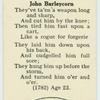 John Barleycorn.