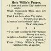 Holy Willie's Prayer.