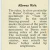 Alloway Kirk.