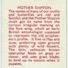 Mother Shipton.