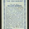 The Rt. Hon. William Adamson.