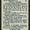 Calendar [for] 1912.