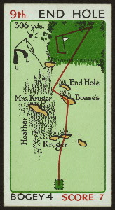 Mr. Rabbit's round--9th hole.