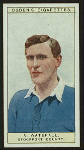 A. Waterall, Stockport County.