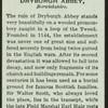 Dryburgh Abbey.