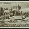 Ripon Cathedral.