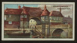 The barbican & bridge, Sandwich.