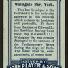 Walmgate Bar, York.