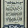 Welsh bridge gate and tower, Shrewsbury.