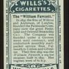 The William Fawcett.