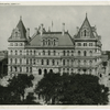 The New York State Capitol, Albany.