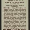 Owen Glendower.