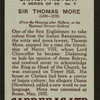 Sir Thomas More.
