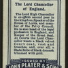The Lord Chancellor of England.