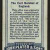 The Earl Marshall of England.