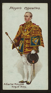 A Garter Principal King of Arms.