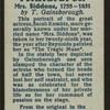Mrs. Siddons.