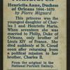 Henrietta Anne, Duchess of Orleans.